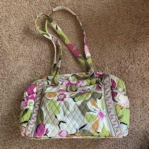 Vera Bradley Portabello diaper bag & changing pad